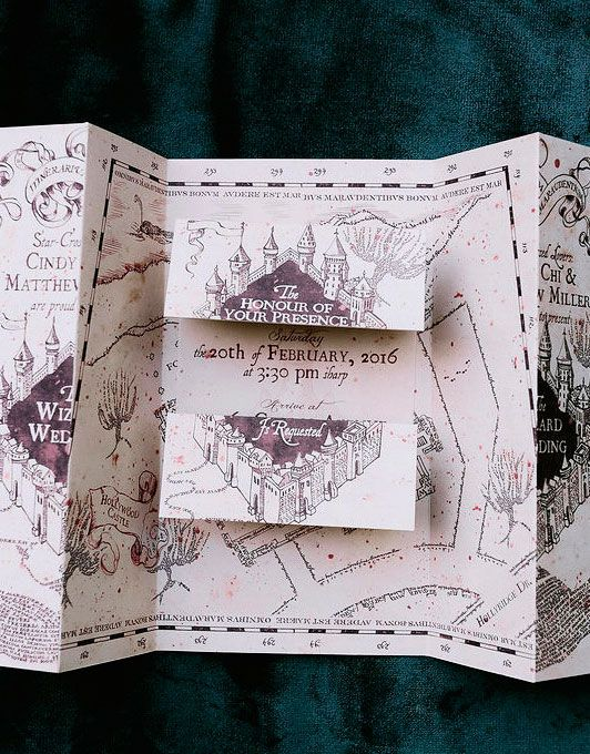 A Moody Magical Harry Potter Themed Wedding Martha Weddings