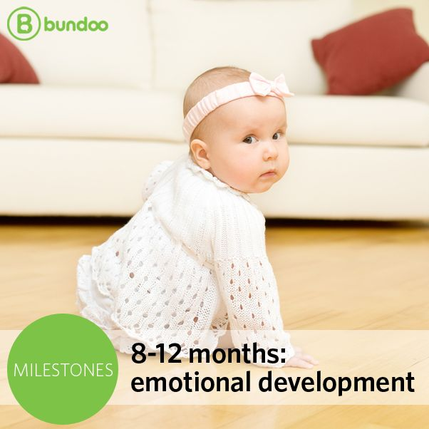 You may fear your 8- to 12-month-old has entered ʺthe terrible twosʺ early, but occasional tantrums at this age is just another emotional milestone to check off the list! Read more about what to expect from your soon-to-be 1-year-old.