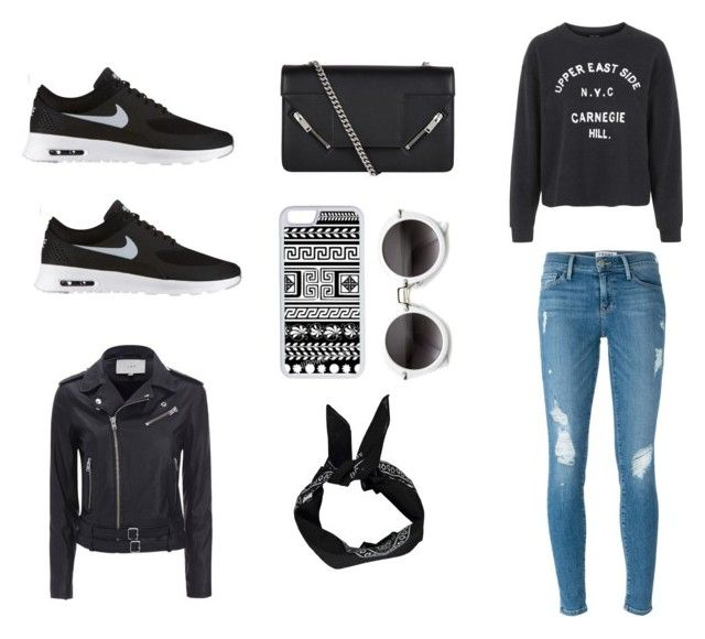 """""""Untitled #9"""" by nuria23 ❤ liked on Polyvore featuring CellPowerCases, Yves Saint Laurent, Topshop, Frame, NIKE, Boohoo and IRO"""