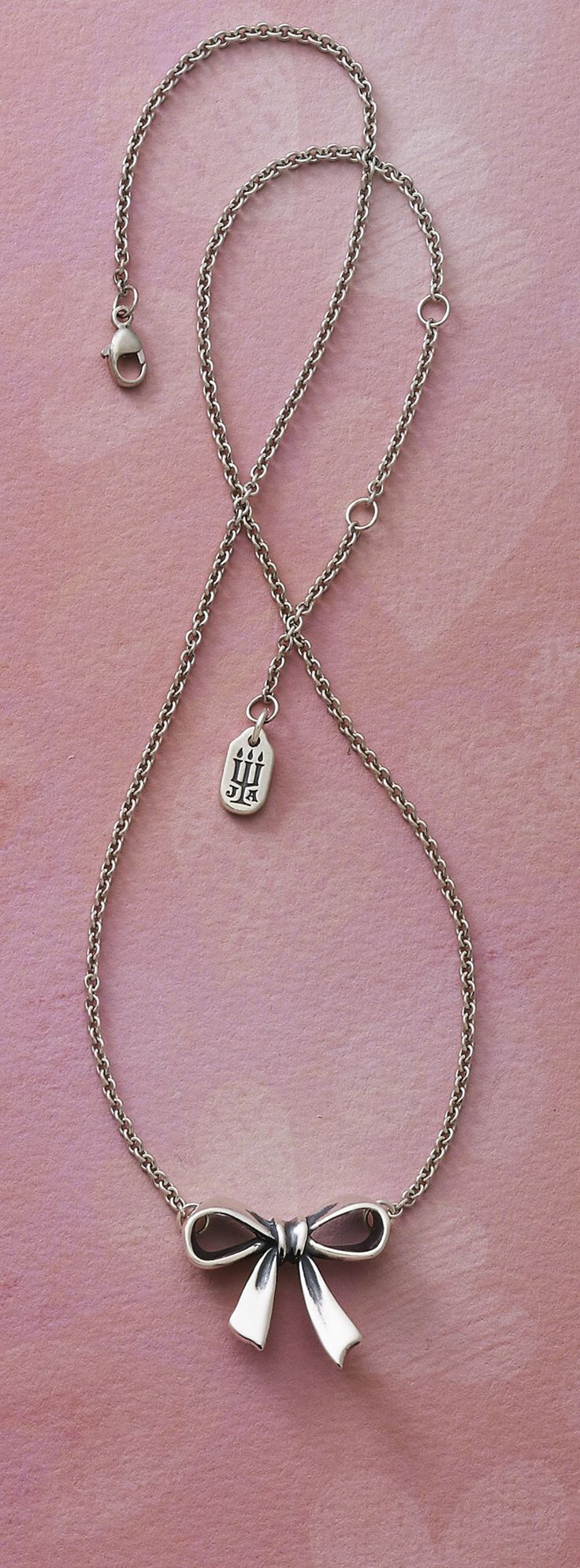 Bow Necklace #JamesAvery #Bows #BowNecklace