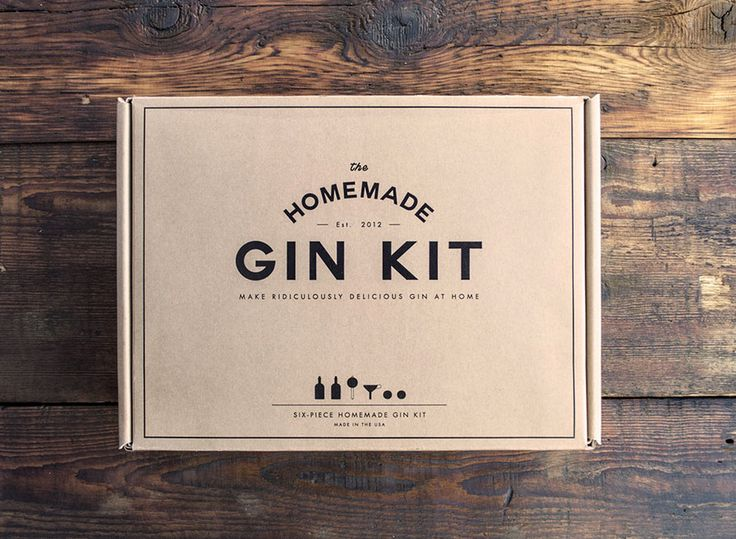 Under $50: Homemade Gin Kit turns a boring old bottle of vodka into delicious, homemade gin. #Christmas #gifts #DIY #craft