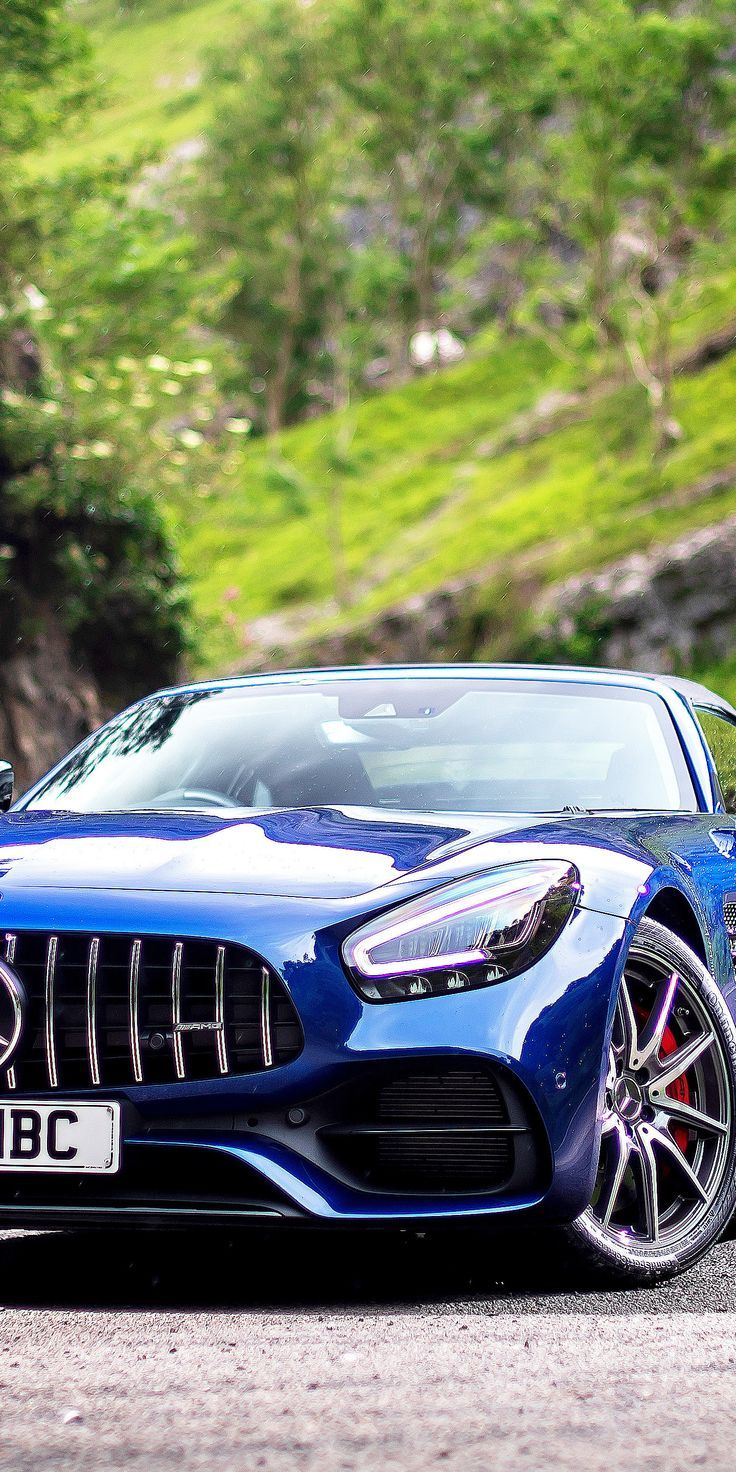 Stunning Wallpaper 14402880 Mercedes Amg Gt S Roadster Blue Car 2019 Wallpaper Mercedes Amg Mercedes Amg Gt S Blue Car