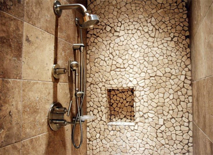 Relaxing Stone Shower For Fun Shower : Simple Minimalist Stone Shower  Design Ideas Hot And Cool