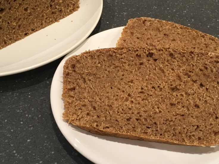 Icelandic Hotspring Ryebread from Rick Stein's Long Weekends book. Geyser bread without the geyser. Gorgeous spread with just butter, or with blackcurrant jam.