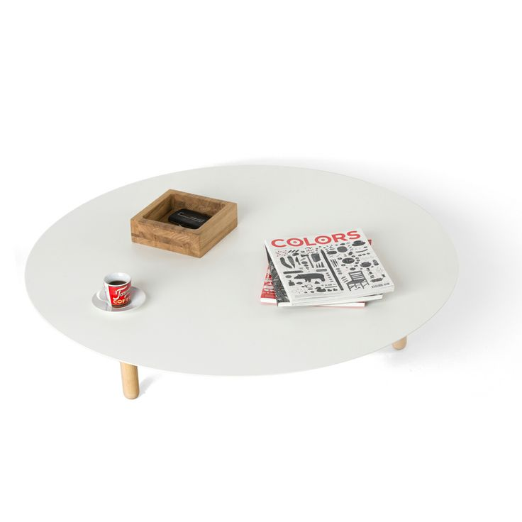 Pole coffee table. A coffee table that makes your drink even taste better! Design by Studio Segers. Available at 340 euro.