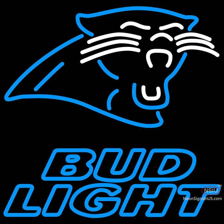 Bud Light Neon Carolina Panthers NFL Real Neon Glass Tube Neon Sign,Affordable and durable,Made in USA,if you want to get it ,please click the visit button or go to my website,you can get everything neon from us. based in CA USA, free shipping and 1 year warranty , 24/7 service