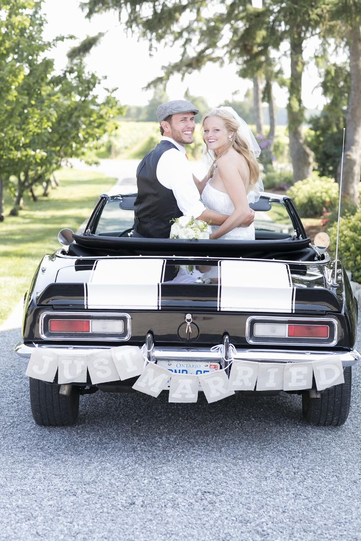 Just Married Sign | '67 Camaro