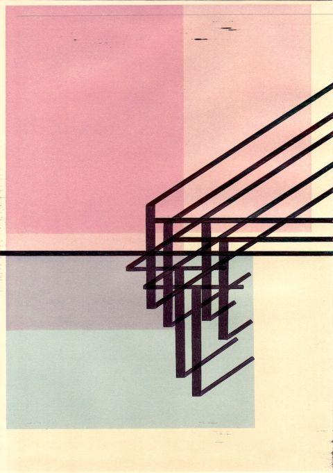 Richard Caldicott, drawings on envelopes.