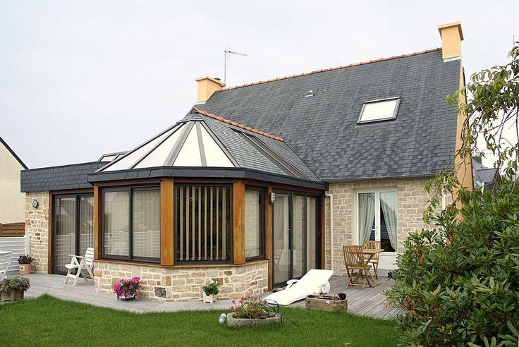 Les 13 meilleures images du tableau veranda sur pinterest extensions piscines et extension maison - Veranda extension maison ...