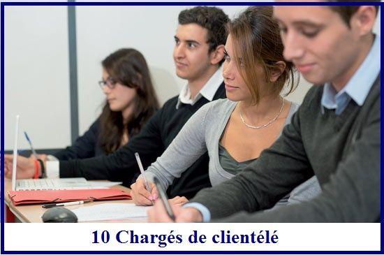 10 Chargé de clientélé     Business      Centre network  Ville : Casablanca  Type du contrat : CDD  Nombre de postes : 1...