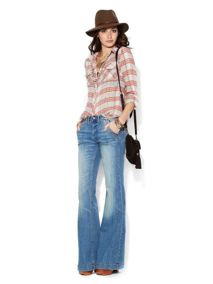 Berkley Flare Leg Jean by Free People at Gilt