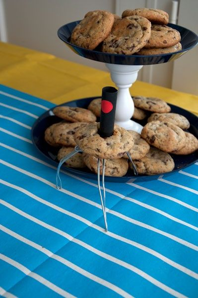 Robot cookies for a very clever, not-over-the-top despicable me birthday party! So cute!
