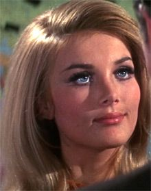 "Barbara Bouchet as Moneypenny in ""Casino Royale"" (1967 ..."