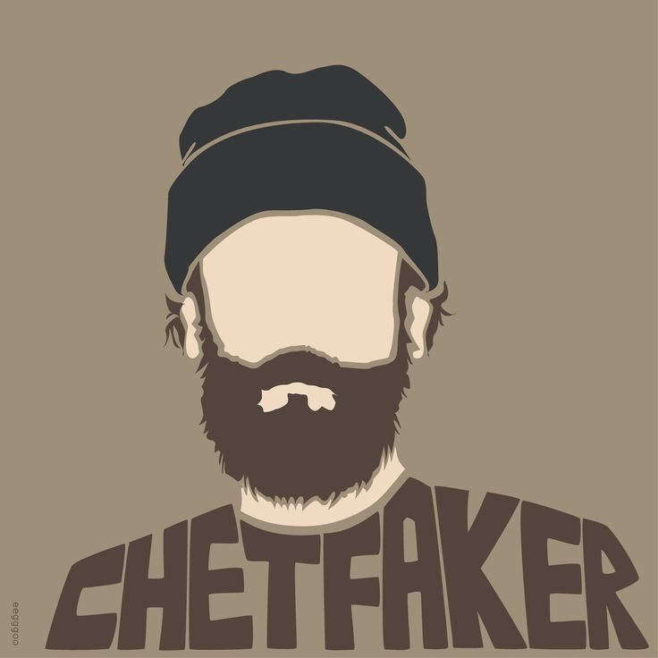 Chet Faker. Australian musician. Fan art Illustration