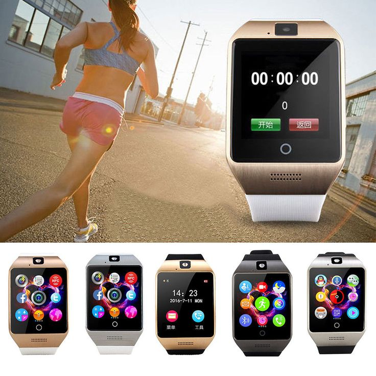 Q18S Smart Watch Smartwatch Bluetooth SIM/Camera/MP3 For iOS Android Bracelet
