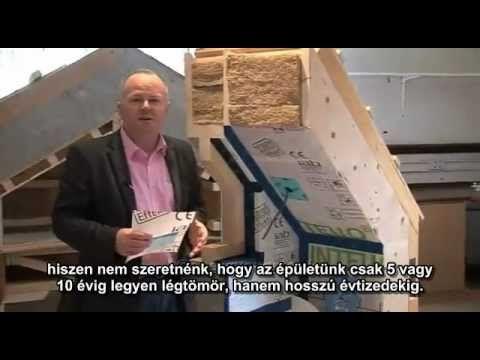 Passzívház hőszigetelése és légtömörsége - YouTube