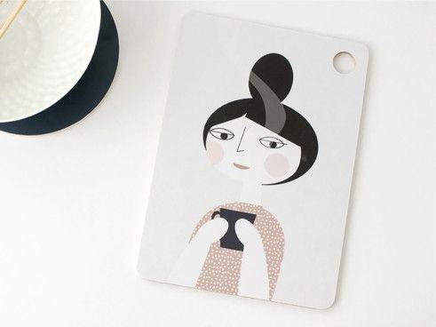 cutting board by Ruth Landesa