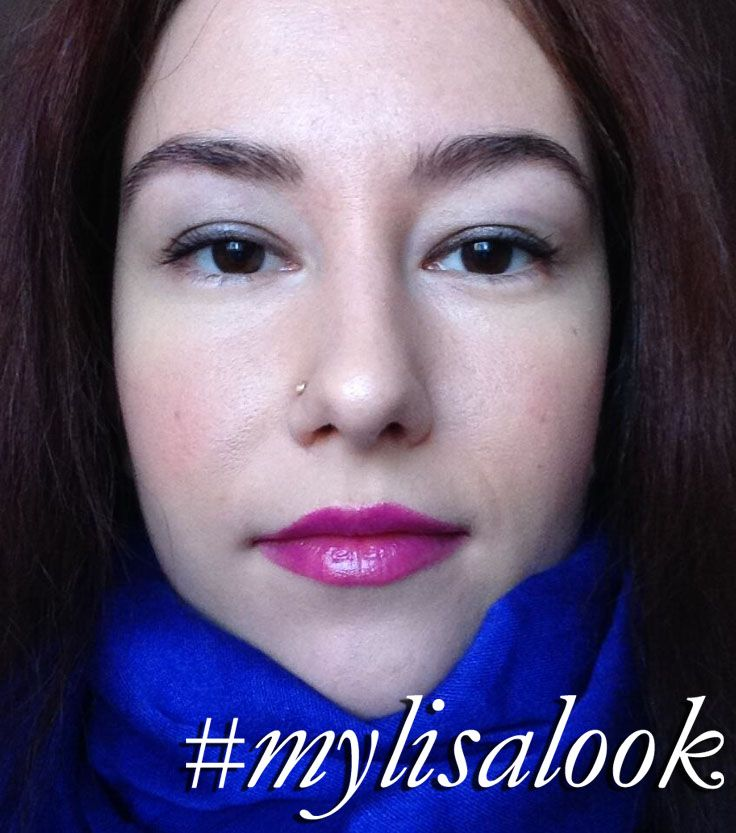 Claudia inspired by my 'Spring Pink Fuchsia-licious' Lip With A Glow http://www.lisaeldridge.com/video/25709/spring-pink-fuchsia-licious-lip-with-a-glow/ #MyLisaLook #Makeup #Beauty