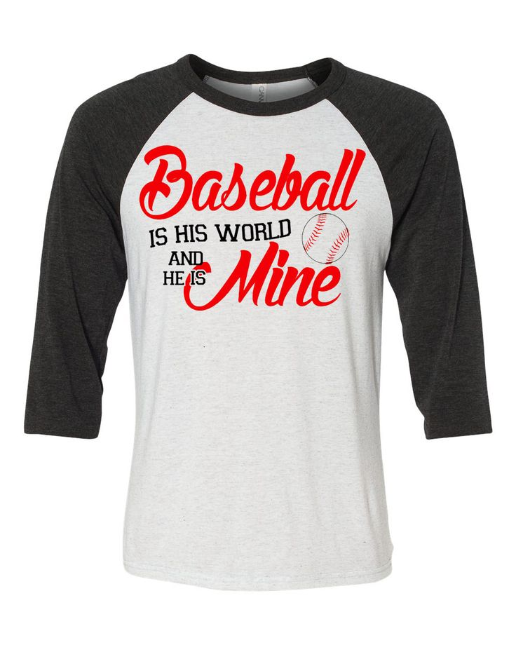 Baseball mom - Baseball is his world and he is mine by HeresYourSignnShirt on Etsy https://www.etsy.com/listing/225551947/baseball-mom-baseball-is-his-world-and