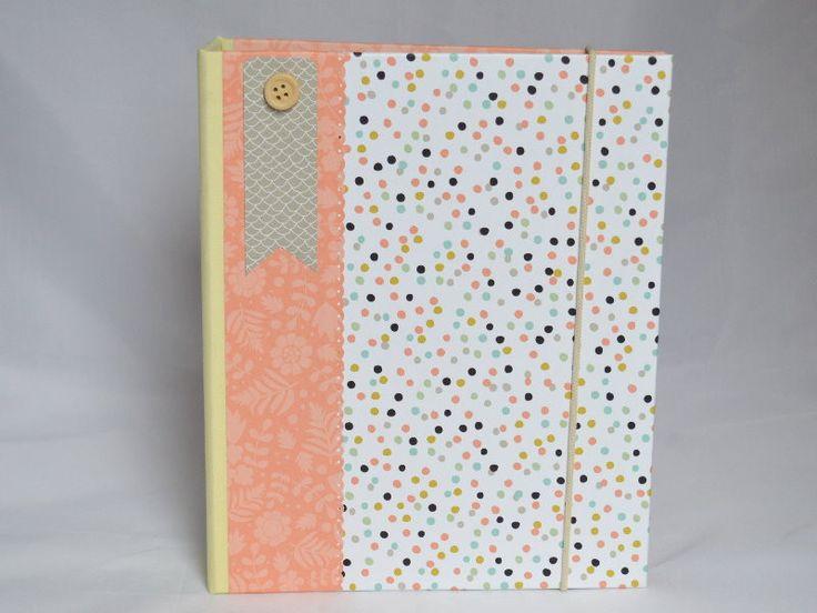 DIN A5 - Ringbuch / Ordner A5 - ein Designerstück von Steffis-Potpourri bei DaWanda