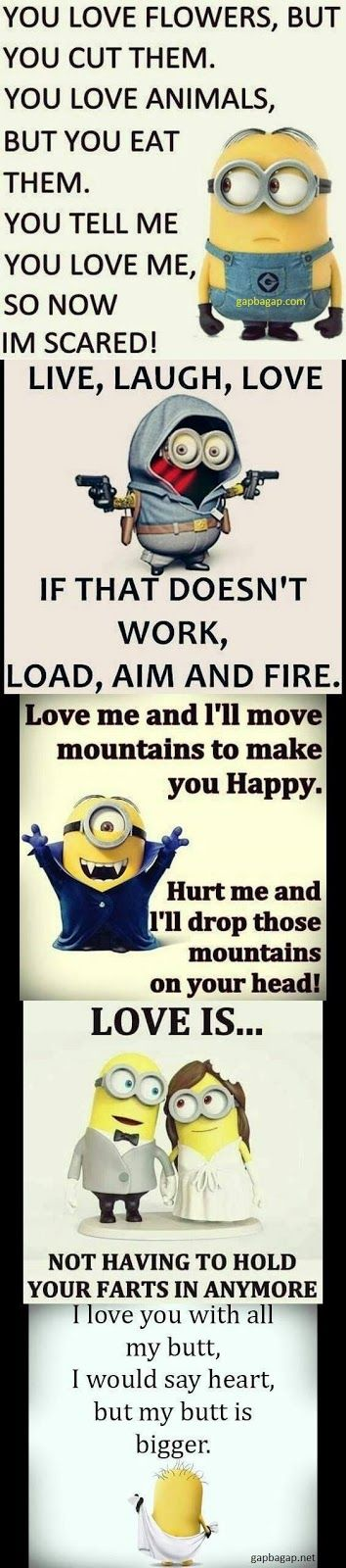 Top 10 Funniest Memes About Love By The Minions