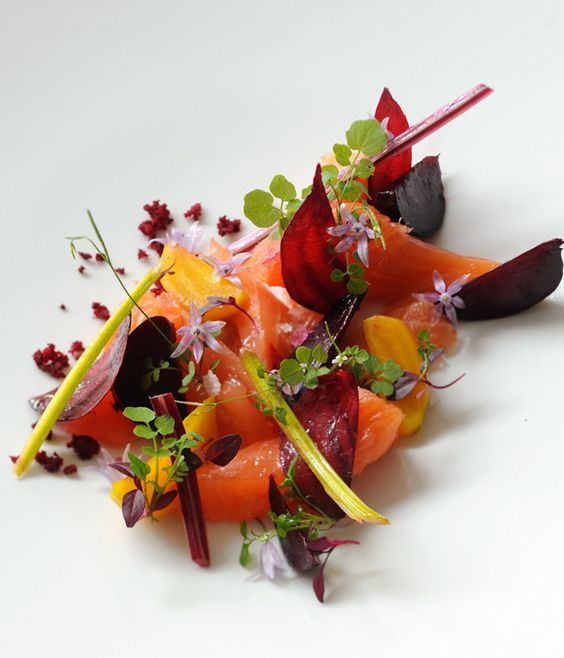 Luke Holder's exquisite cured salmon recipe would be an excellent starter course for any meal.