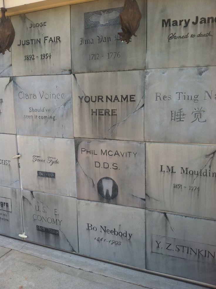 Part of a garage mausoleum for Halloween 2012 & 167 best images about Columns Doors \u0026 Windows on Pinterest ... Pezcame.Com