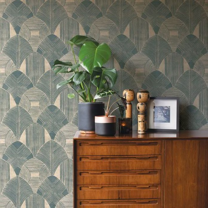 The Property Brothers Have A New Wallpaper Collection So It S Time To Upgrade Your Space Geometric Wallpaper Wallpaper Design Pattern Modern Wallpaper Designs