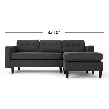 Rent to own Wilder Mid Century Modern 2 piece Fabric Chaise Sectional Sofa  by. Best 25  2 piece sectional sofa ideas on Pinterest   West elm