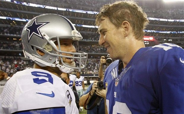 Dallas Cowboys beat New York Giants 36-31 in their opening game of 2013/14 NFL season