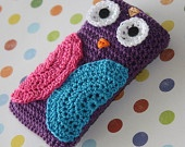 Owl Cell Phone Cover Crochet IPhone