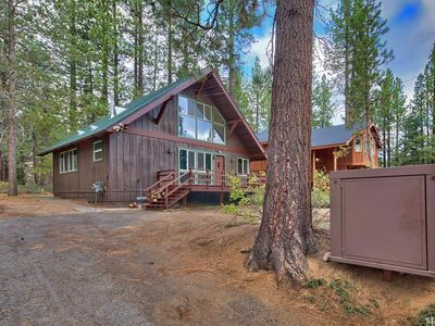 For sale: $384,900. Hike, snow shoe, cross country or snow mobile right in the back yard of this GREAT cabin that connects to miles of US forest service land.  This sweet Chalet has many upgraded features including on demand water heater, remodeled bath, new stove, washer/dryer and roof is less than 5 years old.  One bedroom on main floor and 2 areas for additional bedrooms at large loft. The wood burning circular fireplace creates a warm and cozy atmosphere.  Come see this Great cabin t...