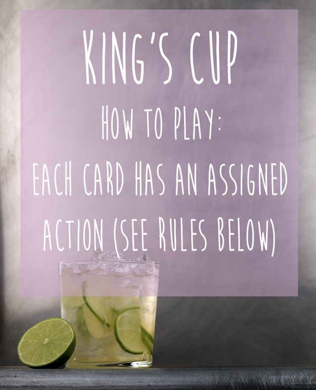 King's Cup (aka Ring of Fire)   15 Simple Drinking Games Every Fresher Should Know