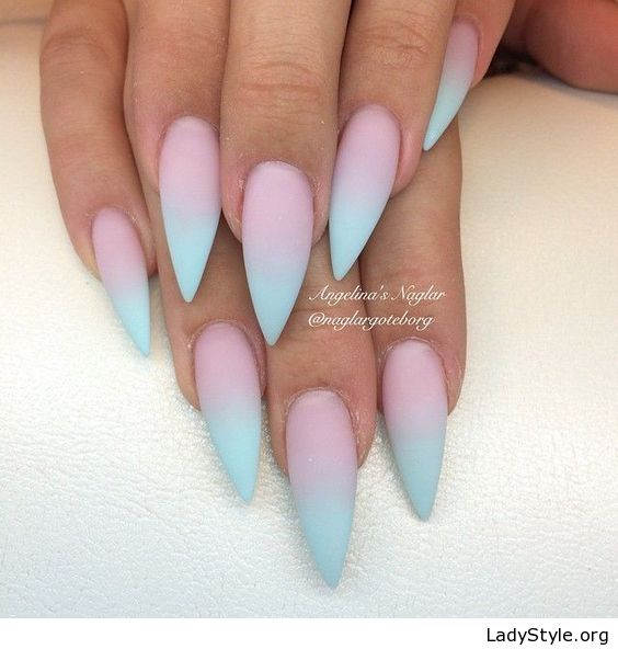 Pink And Blue Nail Polish: Best 25+ Blue Matte Nails Ideas On Pinterest