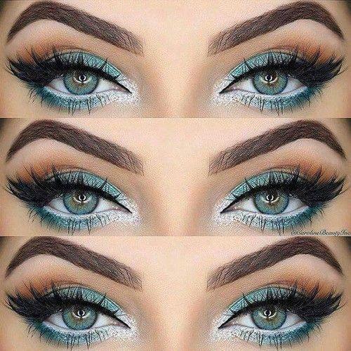 Imagen de makeup, eyes, and blue