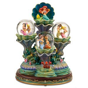 Little Mermaid 20th Anniversary Snowglobe