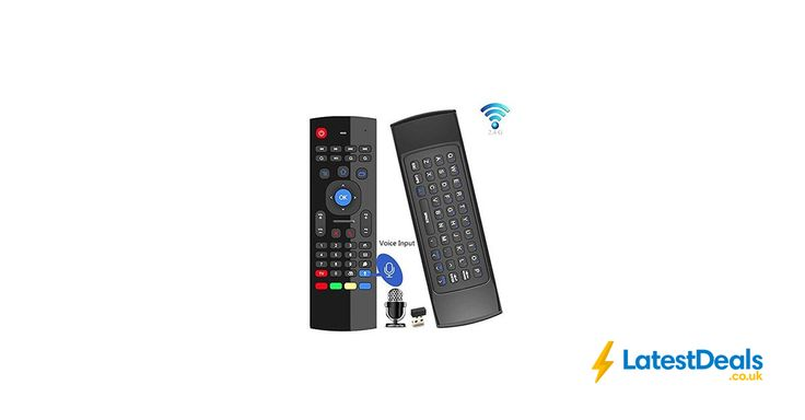 Air Mouse, 2.4GHz Fly Mouse Android Keyboard £5.99 Each When You Buy 2 at Amazon UK