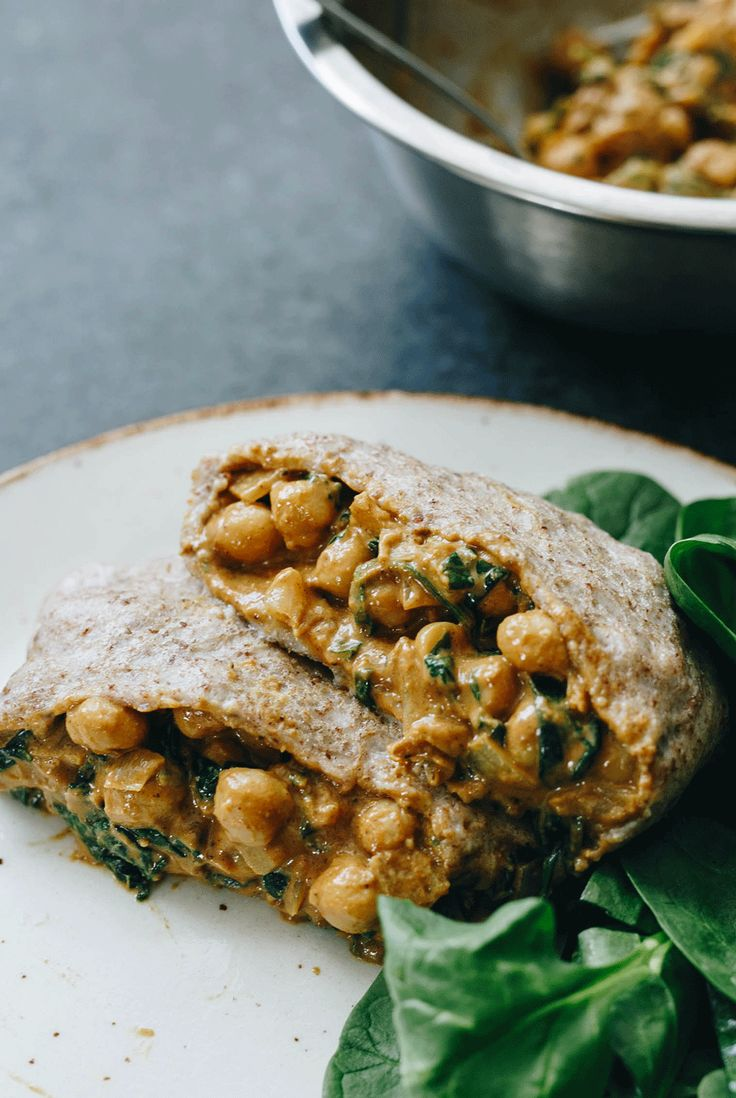 Chickpea & Spinach Roti (vegan, dairy-free, gluten-free and SO DELICIOUS!)