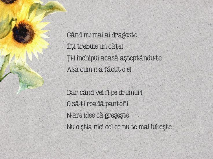 12th poem - Dragoste de câine