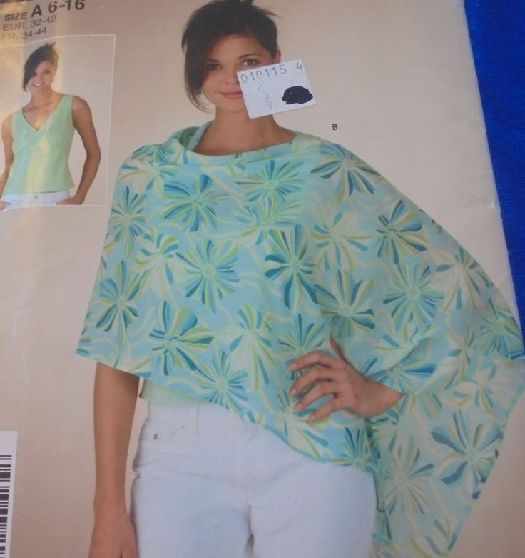 52 best SEWING PATTERNS CAPES PONCHOS DOLMAN KIMONO images on ...
