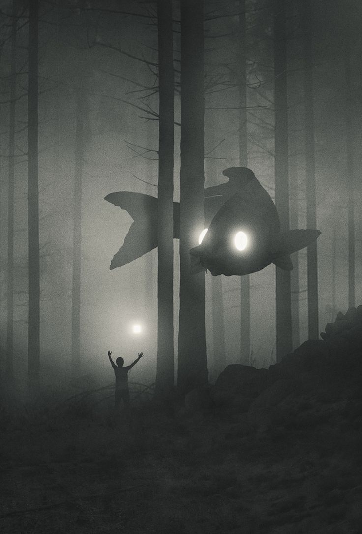 Photo of This artist illustrates his fight against depression with dark and mysterious staging
