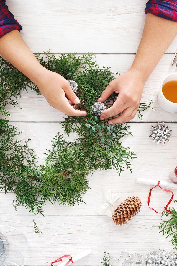 Tischdeko Zu Weihnachten Selber Machen Basteln Fur Weihnachten