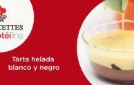 Receta Protéifine   Tarta helada blanco y negro