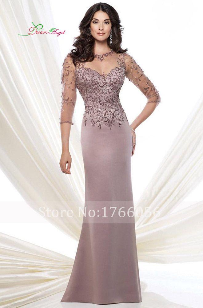 New Fashion Liques Beading Mermaid Mother Of The Bride Dresses 2017 Chiffon Beaded 3