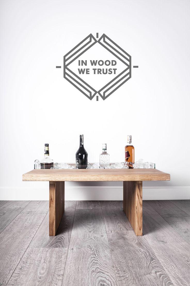 IN WOOD WE TRUST     https://www.facebook.com/inwoodwetrustpolska/      https://www.etsy.com/shop/IWWTwoodworking   photo: Malwina Wachulec http://malwinawachulec.com/       #wood #woodworking #malwinawachulec #inwoodwetrust #woodporn #woodproject #design #wooddesign #table #woodtable #etsy #furniture
