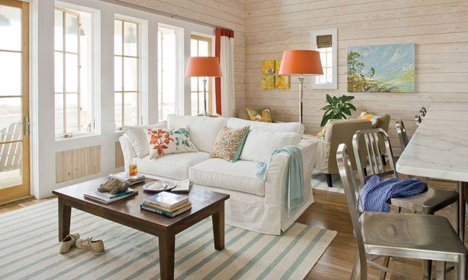 49 besten Coastal Living Room Bilder auf Pinterest Wohnideen, Mein - Wohnzimmermöbel Weiß Landhaus