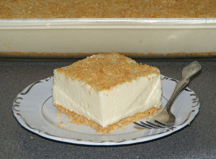Woolworth's Famous Icebox Cheesecake  ----  Light, lemony icebox dessert made famous by Woolworth's lunch counter back in the 1960's.