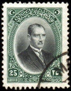 Türk Pullar-Atatürk (1926)