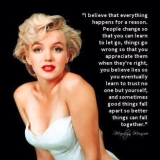 YupMarilyn Monroe, Life, Quotes Inspiration, Quotable Quotes, Favorite Quotes, Living, Words Quotes Lif, Best Quotes, Blondes Truths