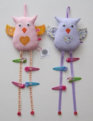 This looks like sewn, but I'm sure that this barrette holder would be great in Polymer.  Maybe the legs could still be ribbon but the body should be polymer.